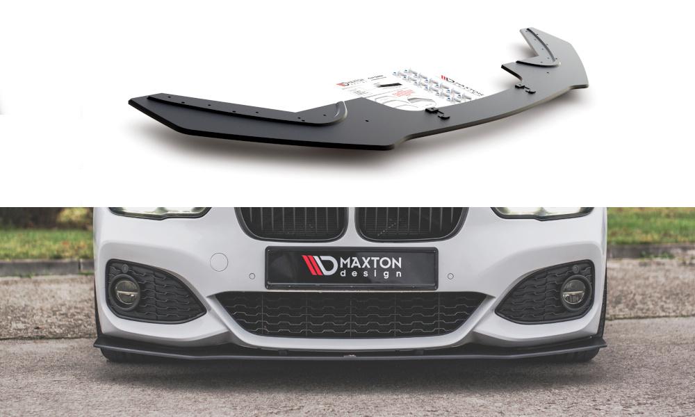 SPLITTER PRZEDNI RACING DURABILITY V.3 BMW 1 F20 M-PACK FACELIFT / M140I - GRUBYGARAGE - Sklep Tuningowy